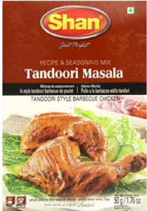 Shan Tandoori Masala (Mix for Tandoori Style Barbecue Chicken) | Buy Online at The Asian Cookshop.
